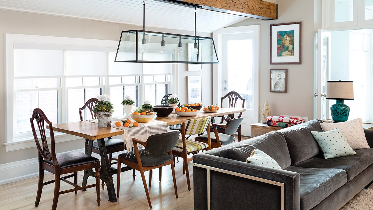 Interior Design: Tour A Rustic & Refined Farmhouse In The City